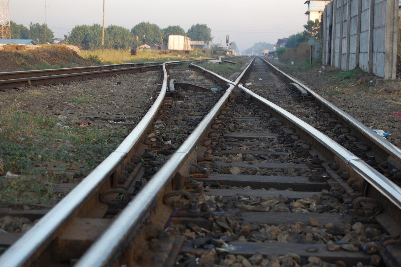 Szybki transport kolejowy
